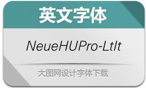 NeueHaasUnicaPro-LtIt(英文字体)