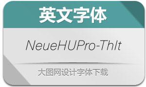 NeueHaasUnicaPro-ThinIt(英文字体)