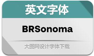 BRSonoma系列16款英文字体