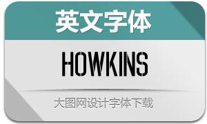 Howkins(英文字體)