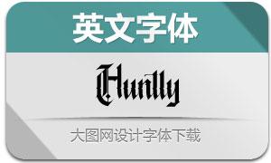 Huntly(英文字體)