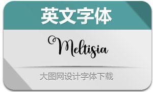 Meltisia(英文字體)