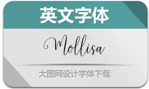 Mollisa(英文字體)