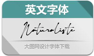 Naturaliste(英文字體)