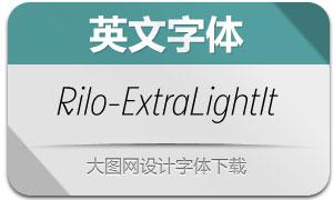 Rilo-ExtraLightItalic(с╒ндвжСw)