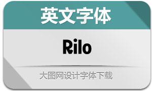 Rilo系列18款英文字体