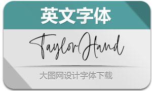 TaylorHand(英文字体)
