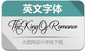 TheKingOfRomance(英文字体)