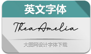 TheaAmelia(英文字体)