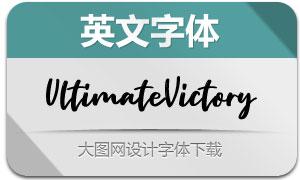 UltimateVictory(英文字体)