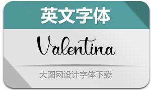 Valentina(英文字体)
