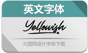 Yellowish(英文字体)