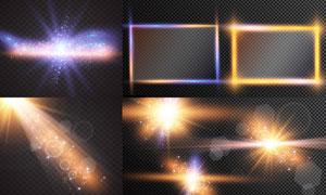 光源光效設計元素主題矢量素材集V40