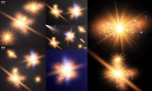 光源光效設計元素主題矢量素材集V41