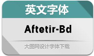 Aftetir-Bold(英文字体)
