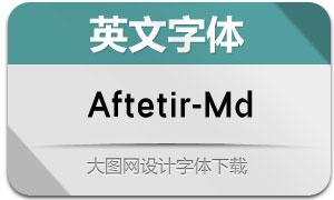 Aftetir-Medium(英文字体)