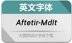 Aftetir-MediumItalic(英文字体)