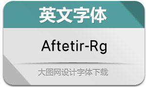 Aftetir-Regular(英文字体)