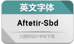 Aftetir-SemiBold(英文字体)