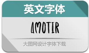 Amotir(英文字体)