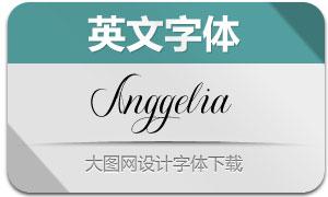 Anggelia(英文字体)