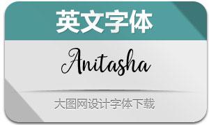 Anitasha-Regular(英文字体)