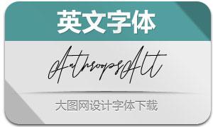Anthroops-Alt(英文字体)