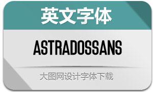 Astrados-Sans(英文字体)