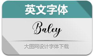 Baley(英文字体)