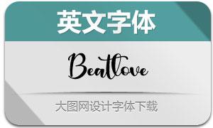 Beatlove(英文字体)