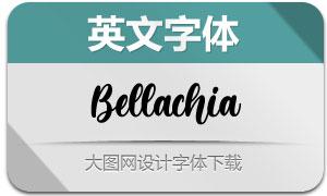 Bellachia(英文字体)