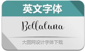 Bellaluna(英文字体)