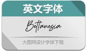 Bettanesia(英文字体)
