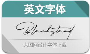 Blackstand(英文字体)