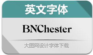 BNChester(英文字体)
