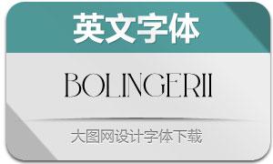 BolinGerii(英文字体)