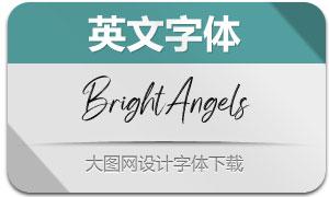 BrightAngels(英文字体)