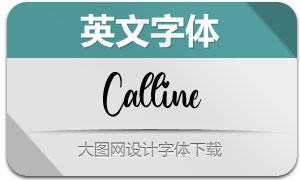 Calline(英文字体)