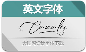 Canales(英文字体)
