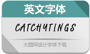 Catchytings(英文字体)