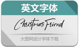 ChristmasFriend(英文字体)
