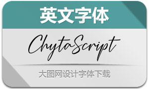 ChytaScript-Regular(英文字体)
