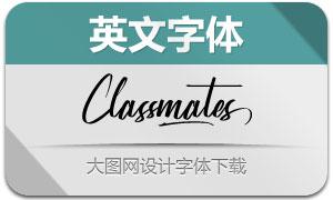 Classmates(英文字体)