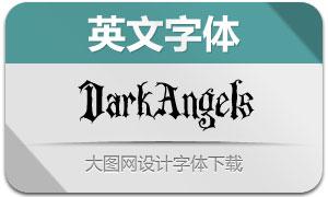 DarkAngels(英文字体)