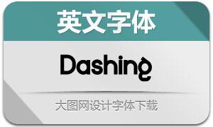 Dashing(英文字体)