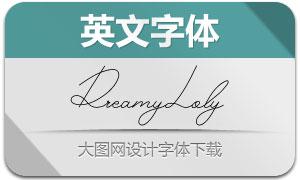 DreamyLoly(英文字体)