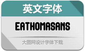 EathomaSans(英文字体)
