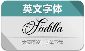 Fadilla(英文字体)