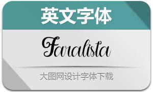 Faralista(英文字体)