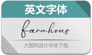 FarmhouseChristmas(英文字体)
